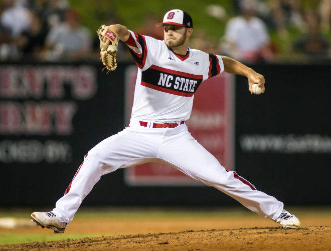 NC State redshirt junior lefty Cody Beckman was drafted in the 25th round by the New York Mets last summer but elected to return to NCSU.