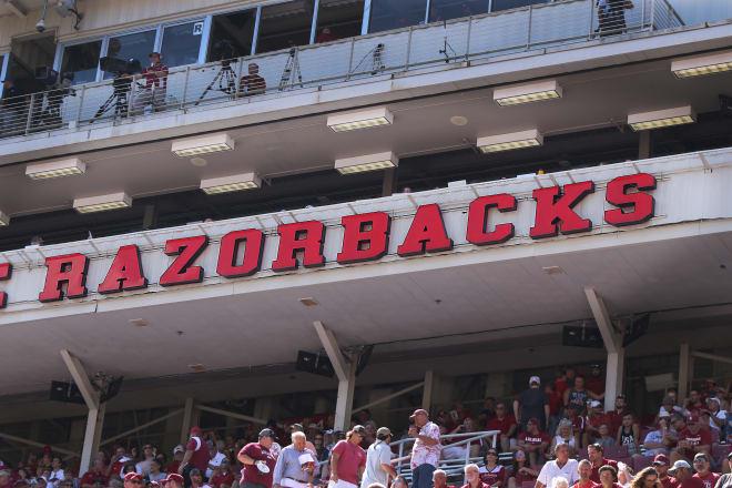 Donald W. Reynolds Razorback Stadium.