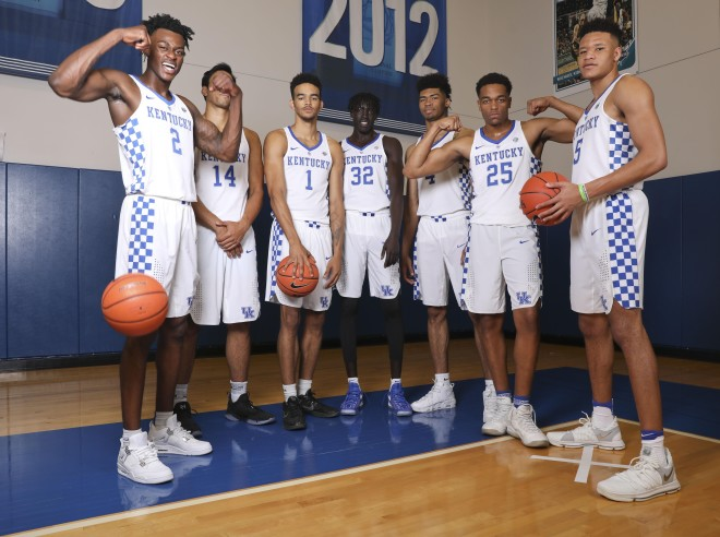 High expectations for Kentucky in college basketball coaches' poll