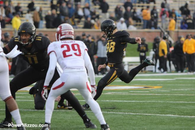 Missouri has touchdown taken away for excessive celebration