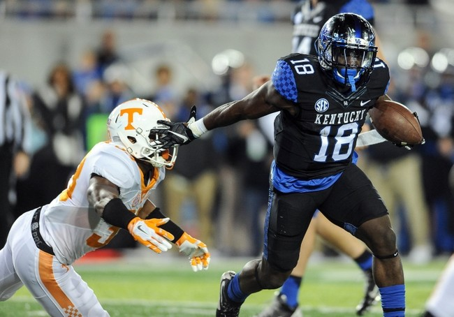 Stanley Williams has become the key man in Kentucky's backfield.