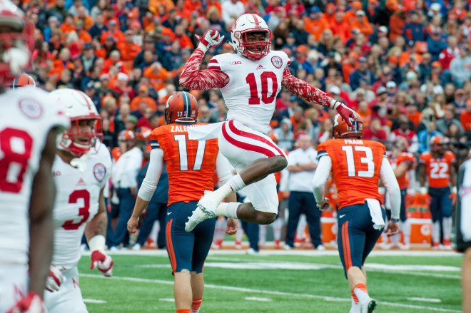 Nebraska's Joshua Kalu could be in store for a huge junior season with a full year under the new defense under his belt.