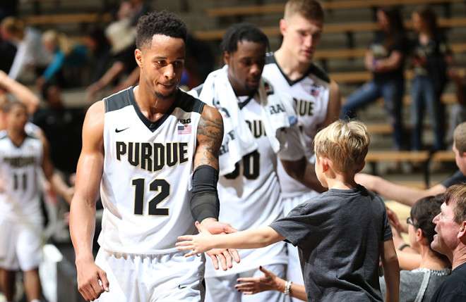 Swanigan headed to National Basketball Association, but Edwards returning to Purdue