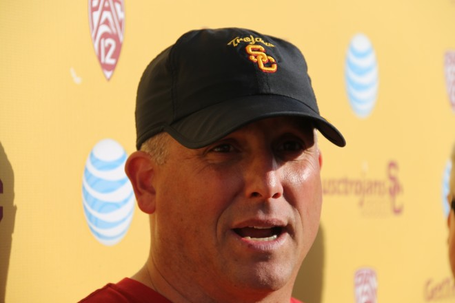 USC's coaches were wildly impressed with 14-year old Jaden Navarrette