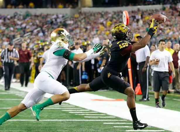 Arizona State Grad Transfer WR Cameron Smith Signs With Notre Dame