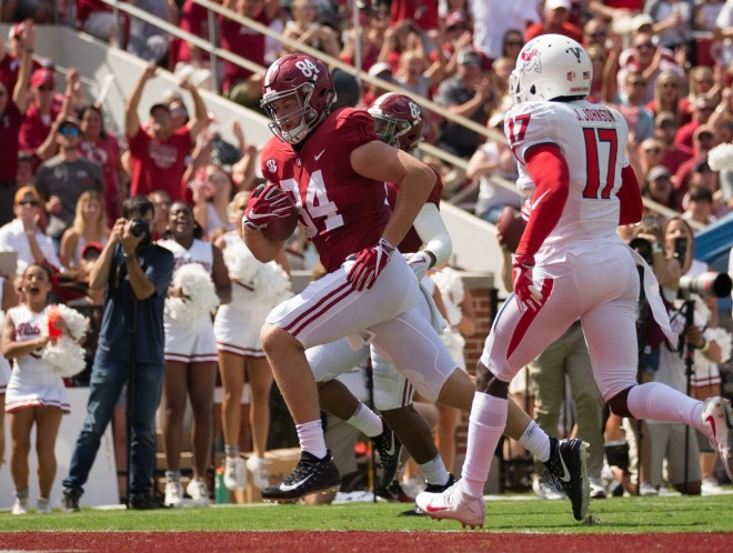 The Crimson Tide defeats Fresno State 41-10 in home opener