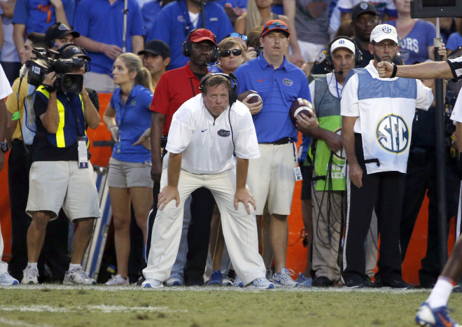 Jim McElwain's future at Florida in question as Gators face Georgia