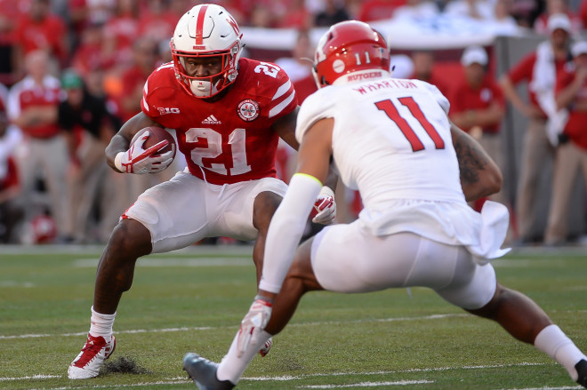 Huskers pull away in second half to win conference opener