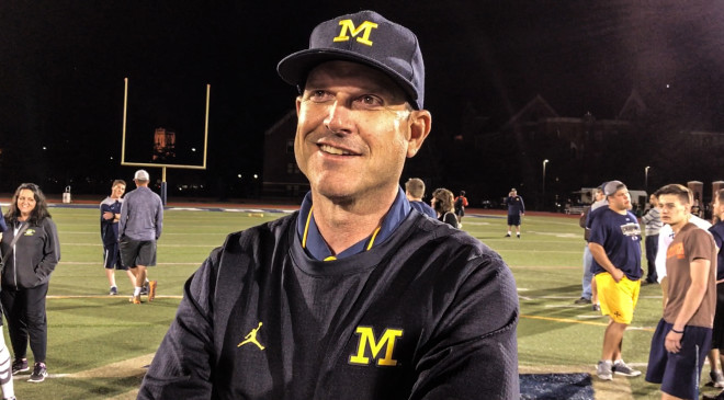 Jim Harbaugh: Wilton Speight 'tied for first' in Michigan QB competition