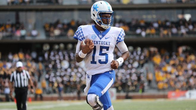 MacGinnis' 4 FGs help Kentucky survive Missouri 40-34