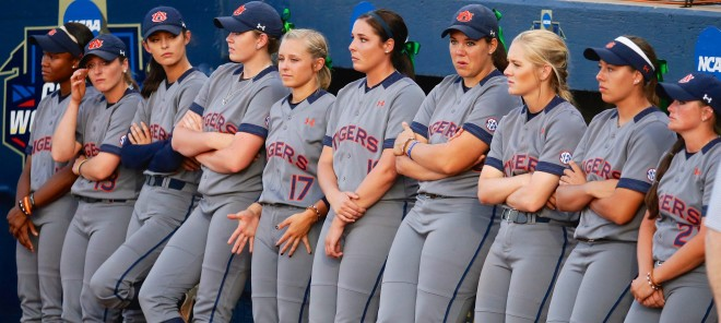 Auburn set a school record this season with 58 wins, but the sting of Wednesday's loss will linger.