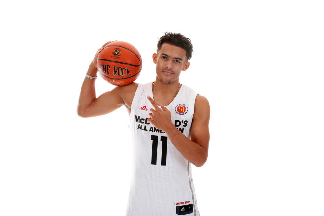 9d987f20a9a3 Photo by Courtesy of McDonald s All-American Game. Trae Young