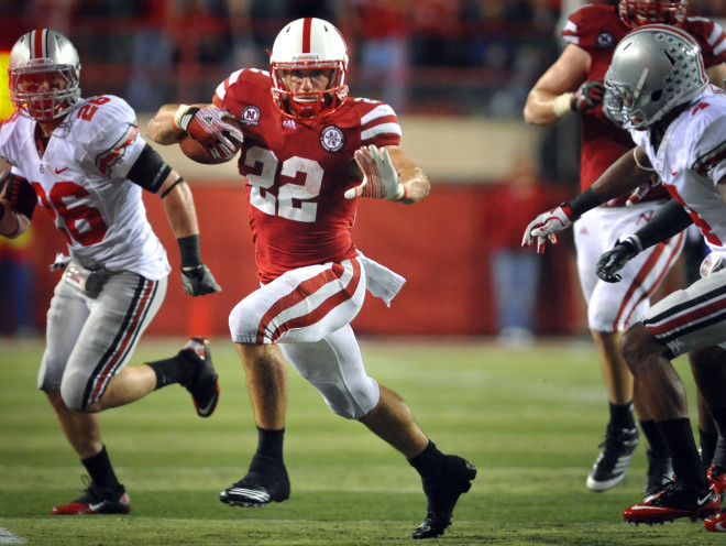 Rex Burkhead rushed for 119 yards and scored two clutch fourth quarter touchdowns to help Nebraska erase a 21-point deficit vs. Ohio State