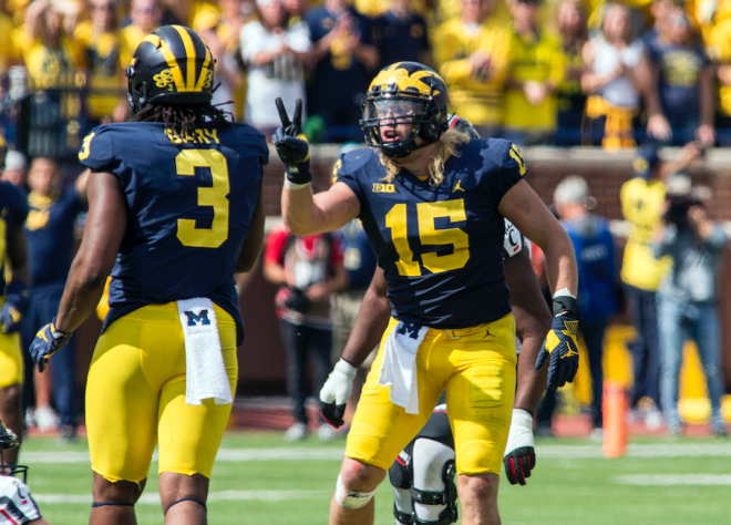 Michigan's Winovich named Big Ten co-Defensive Player of the Week