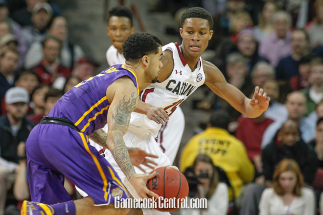 USC's PJ Dozier will sign with agent, stay in NBA Draft