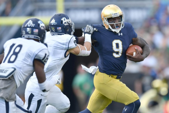 Ex-Notre Dame QB Malik Zaire expected to transfer to Florida