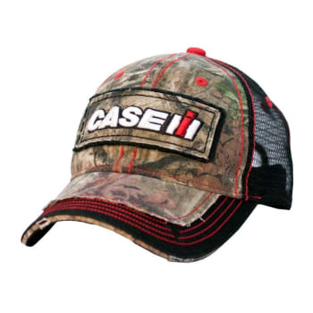 fe9fdb8f6af Case IP Youth Distressed Licensed Camo Cap