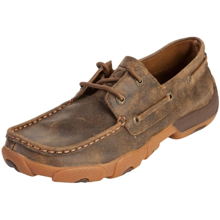 855cd329c58f Twisted X Ladies Casual Deck Bomber Boat Shoes WDM0003