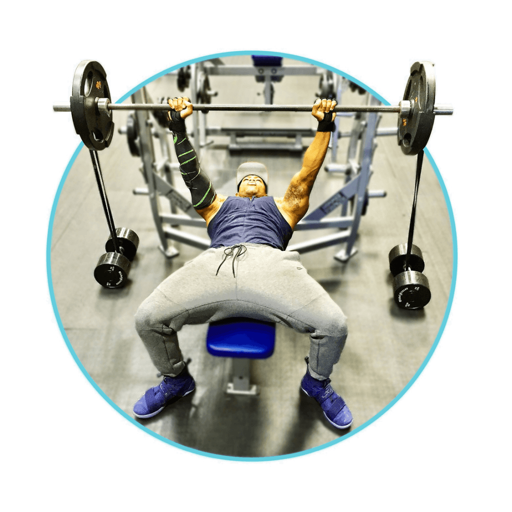 Wondrous Bench Press With Resistance Bands And Weights Gamerscity Chair Design For Home Gamerscityorg