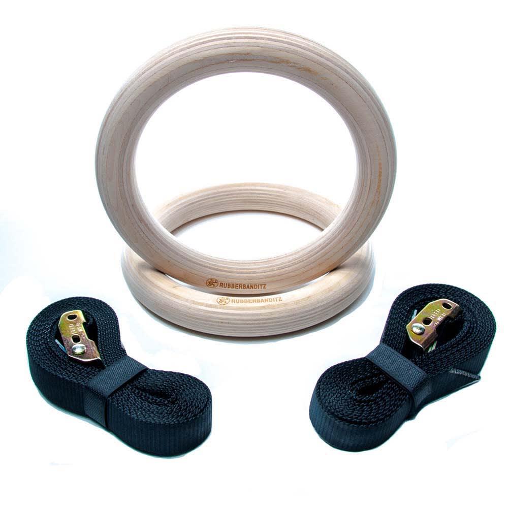 Gymnastics Wood Rings