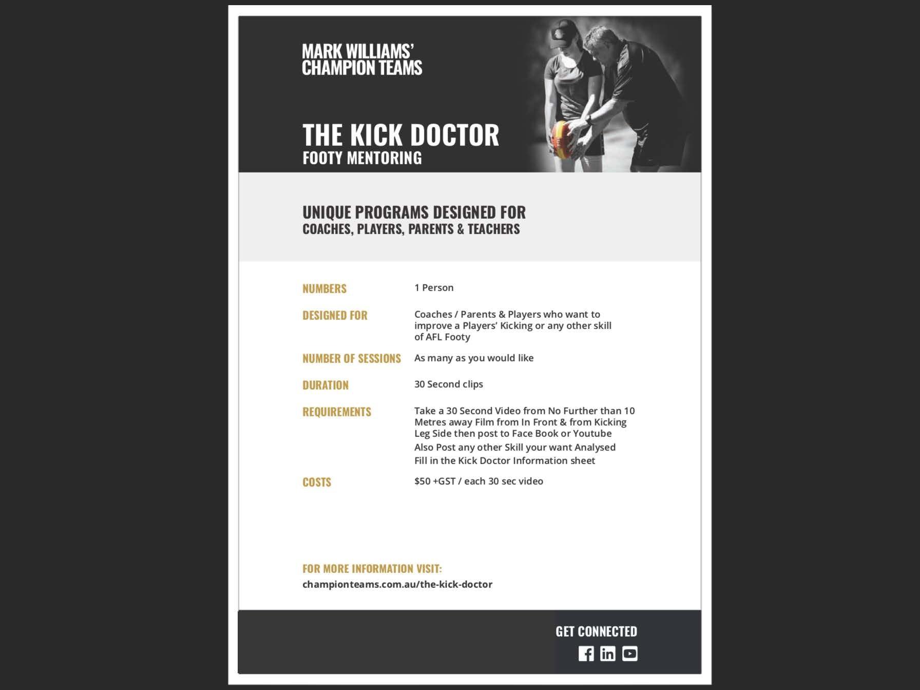 Kick Doctor