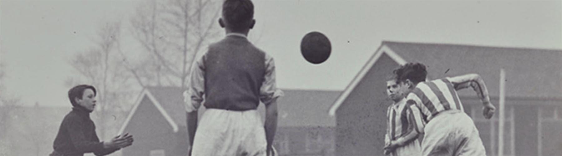 Historic photo of basketball