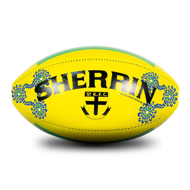 2019 Sir Doug Nicholls Round Game Ball - St Kilda