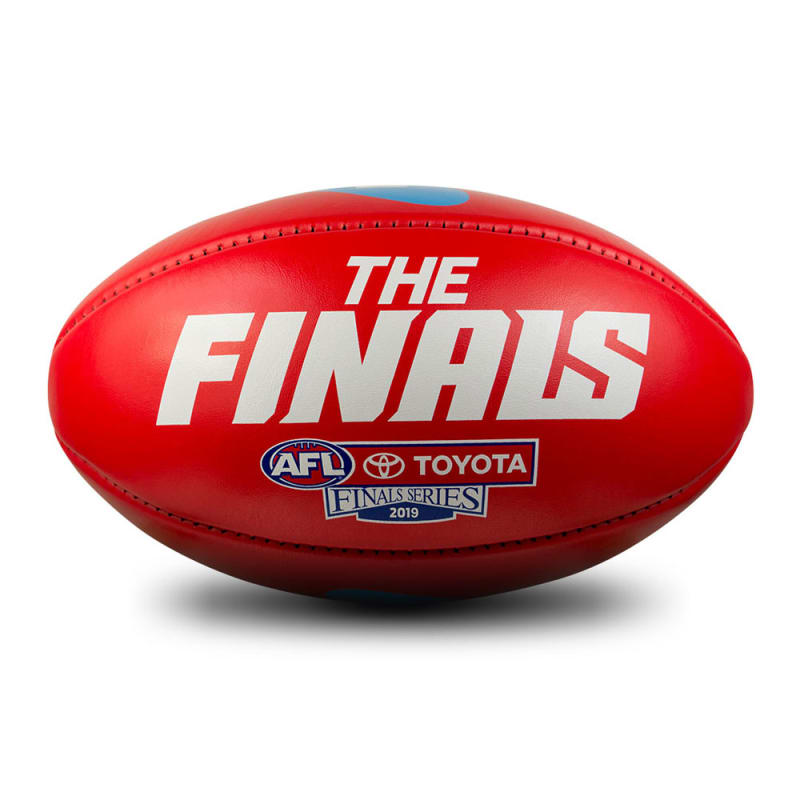 2019 Toyota AFL Finals Series Game Ball - Red