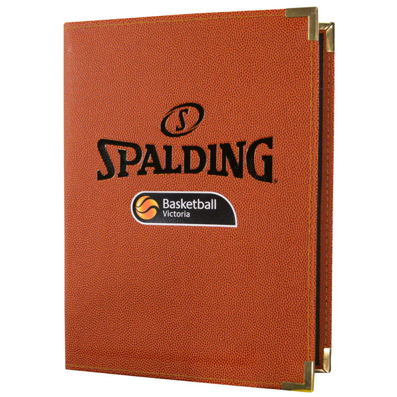 Basketball Victoria Spalding Folder - A4 Orange
