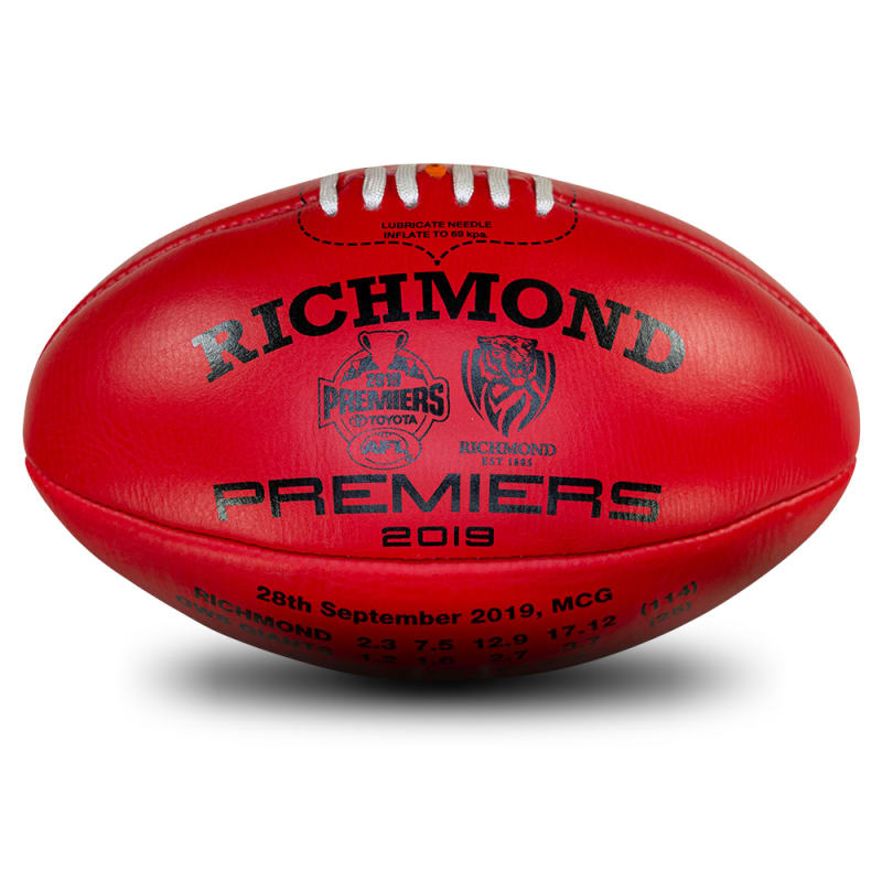 2019 Premiers Ball - Red - Richmond Tigers