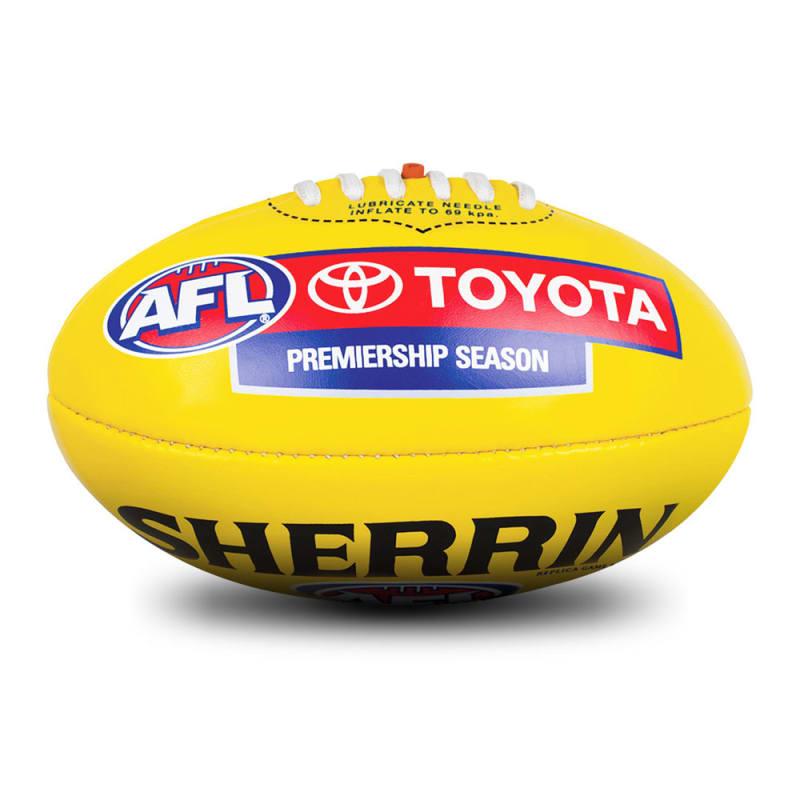 AFL Replica PVC Ball - Yellow