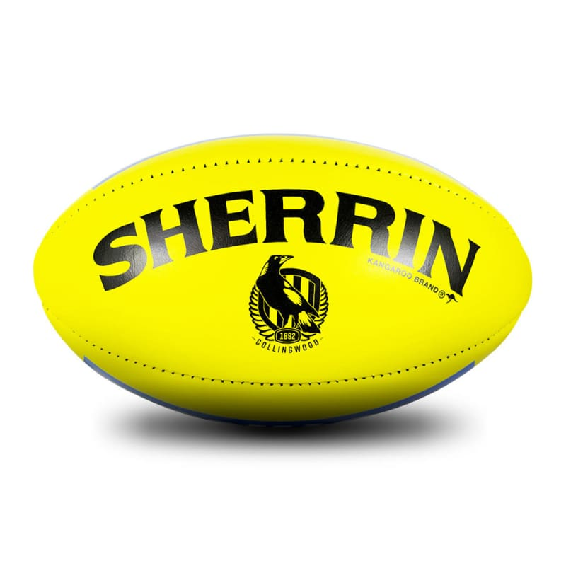 Collingwood Game Ball - Yellow