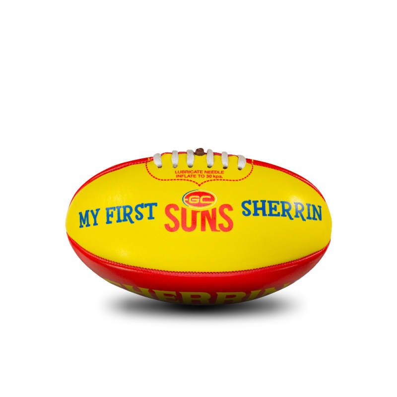 My First Sherrin - AFL Team - Gold Coast Suns