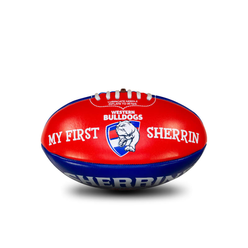 My First Sherrin - AFL Team - Western Bulldogs