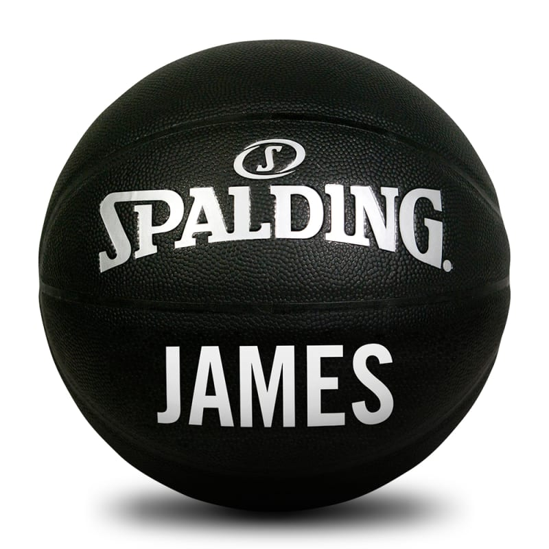 Personalised Basketball - Black