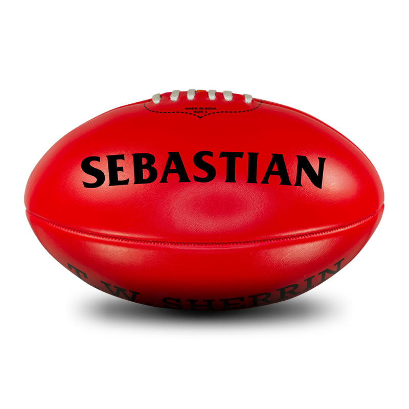 Personalised Red Football - Size 5