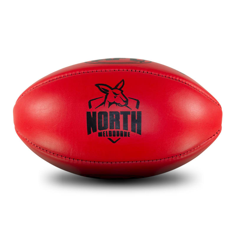 Personalised Leather KB Red - North Melbourne