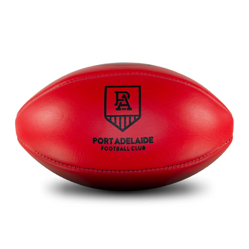 Personalised Leather KB Red - Port Adelaide