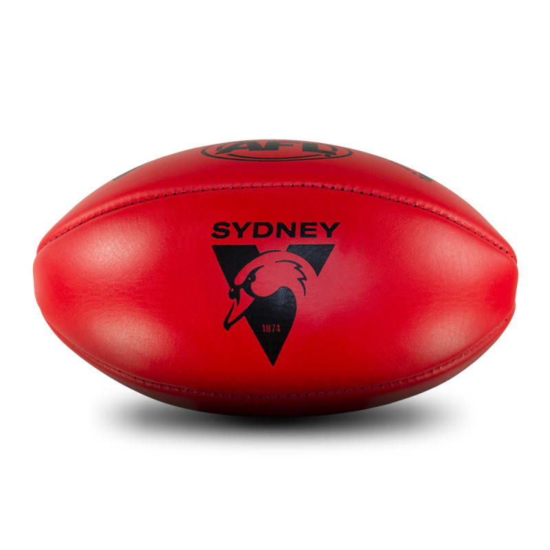Personalised Leather KB Red - Sydney Swans