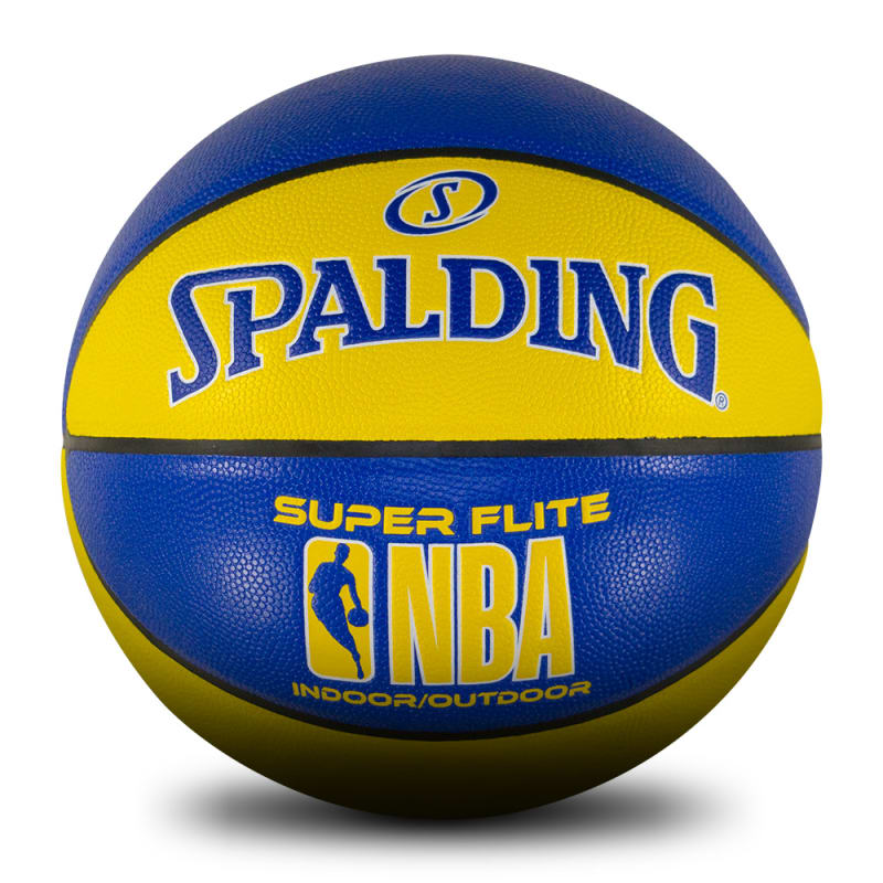 NBA Super Flite - Yellow & Blue - Size 7