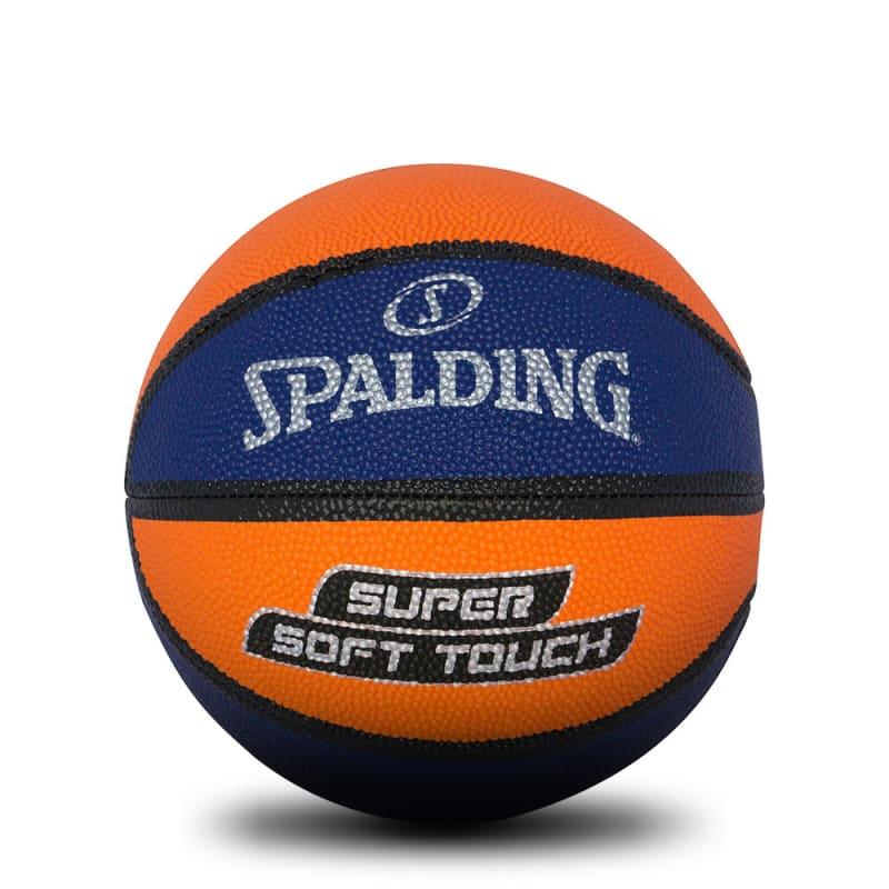 Super Soft Basketball - Navy/Orange