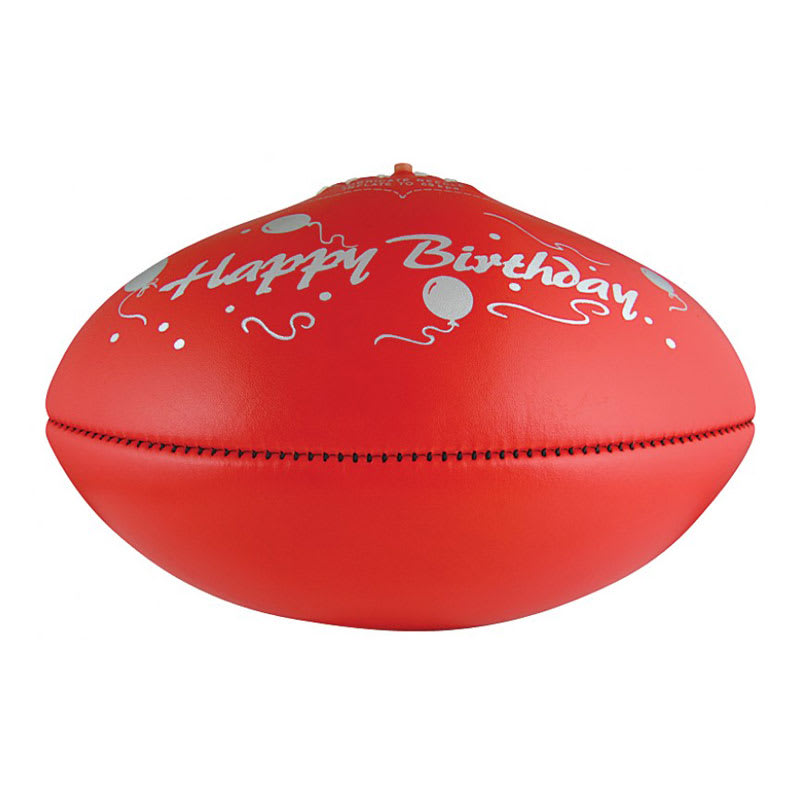 KB Red - Happy Birthday - Size 5
