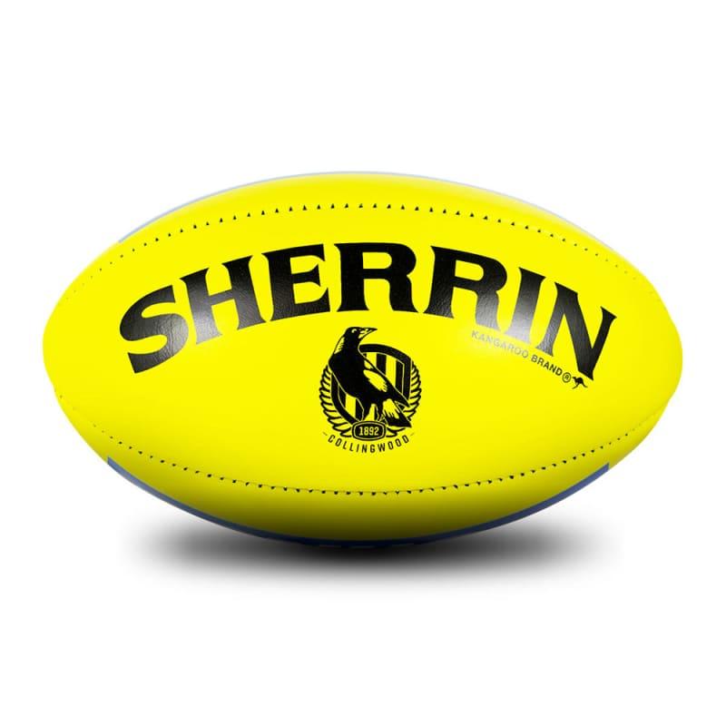 Collingwood Game Ball - Yellow