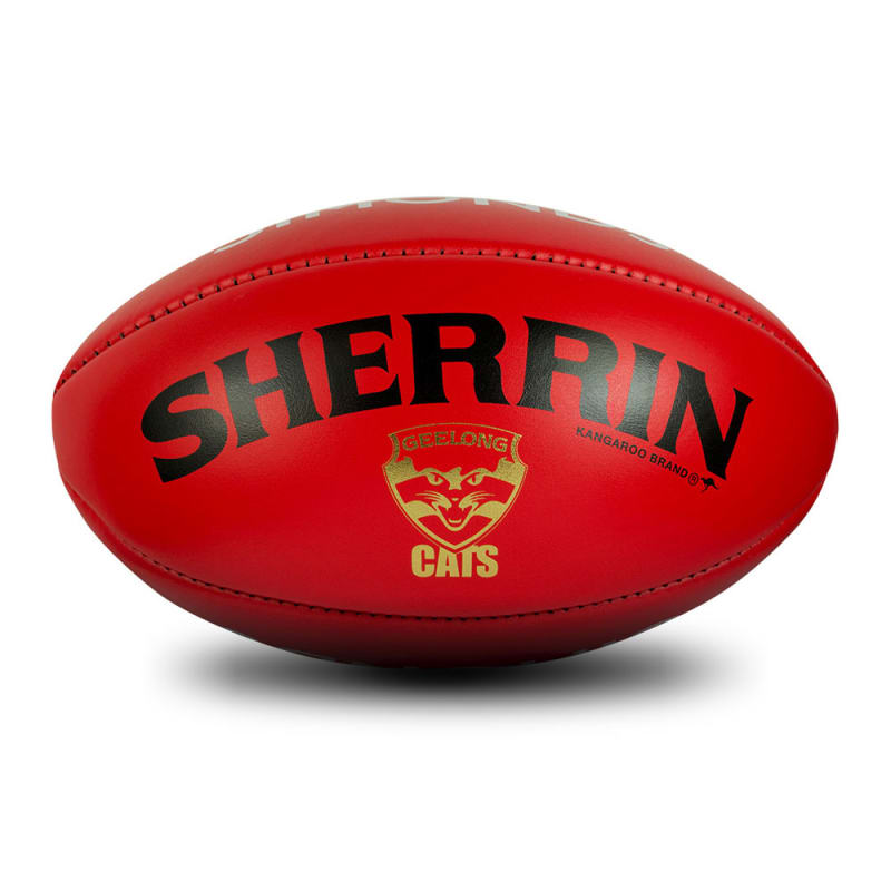 Geelong Game Ball - Red