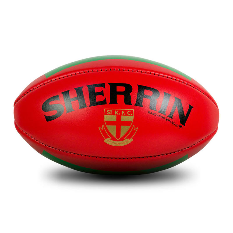 St Kilda Game Ball - Red