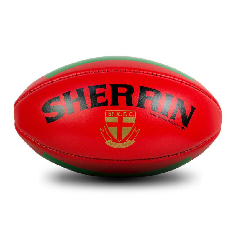 St Kilda Game Ball - Red