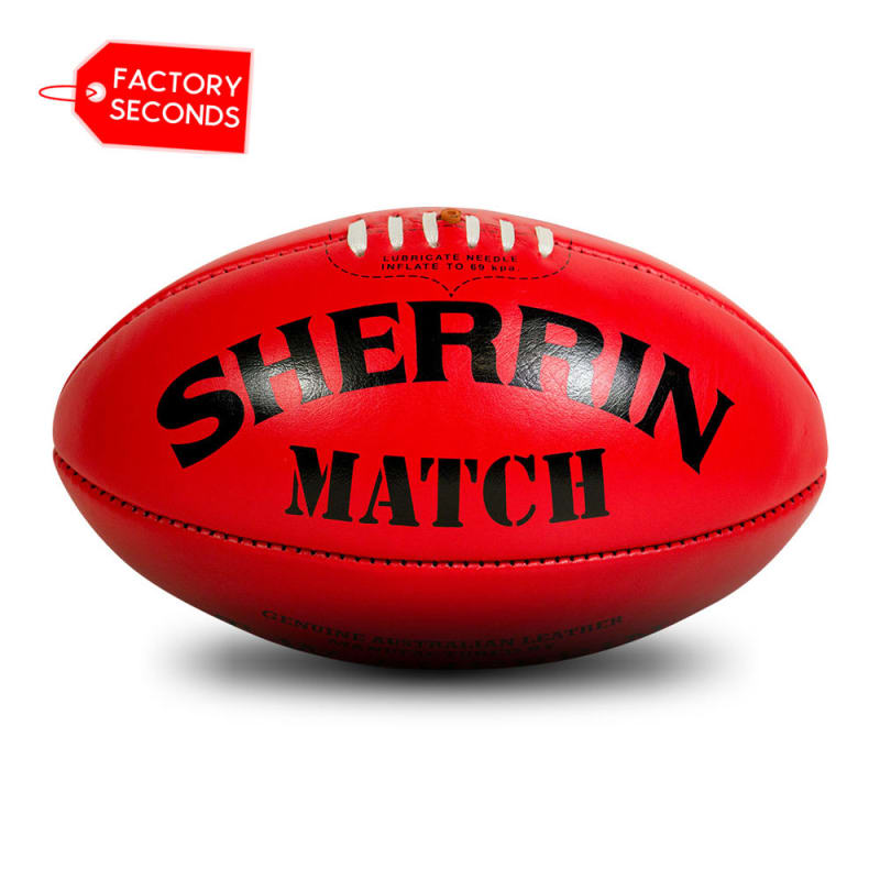 Match Seconds - Red Size 5