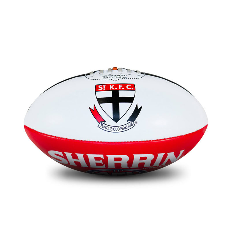Personalised St Kilda Ball - Size 3
