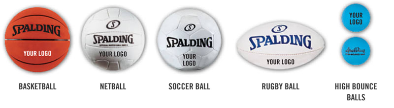 Custom Spalding Ball Types