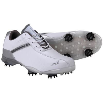 Woodworm TFG Waterproof Golf Shoes White / Silver